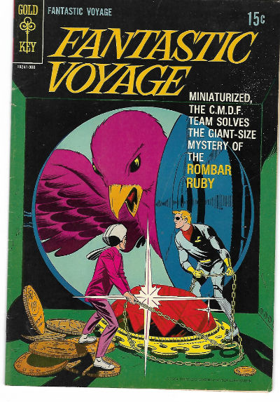 Image for FANTASTIC VOYAGE #1 F, based on TV show, Paul Norris c/a, Gold Key 1969