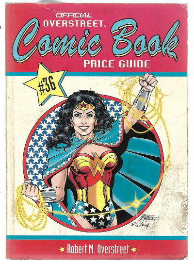 Image for The Official Overstreet Comic Book Price Guide, 36th Edition (Paperback)
