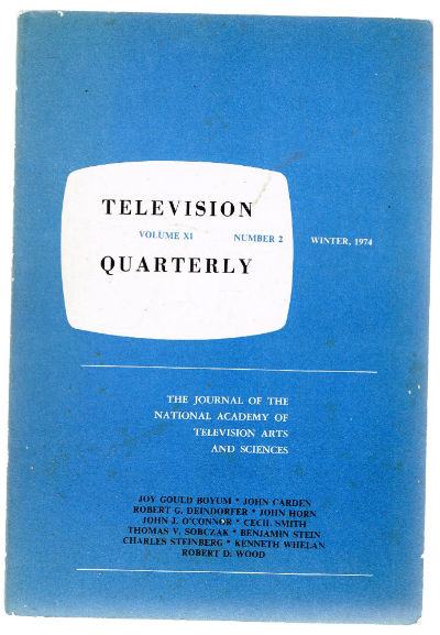 Image for Television Quarterly   Vol.Xl,#2,winter 1974