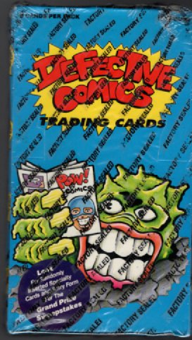 Image for 1993 Defective Comics Factory Sealed Trading Card Set (50)