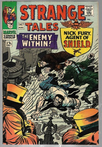 Image for Strange Tales (1966 1st Series) #147