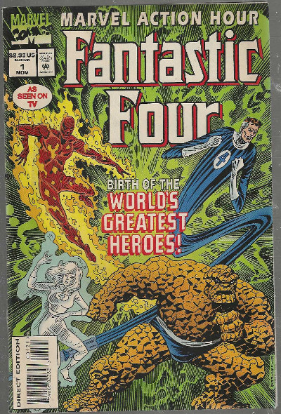Image for Marvel Action Hour featuring Fantastic Four #1