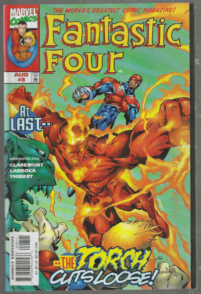 Image for Fantastic Four #8 (Vol.3)