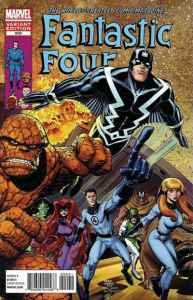 Image for Fantastic Four #600B  variant