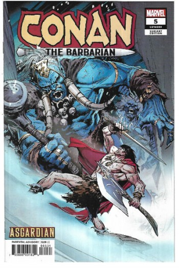 Image for Conan:the Barbarian #5