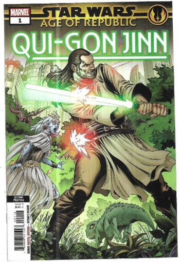 Image for Star Wars:Age of Republic;Qui-Gon Jinn #1 Variant