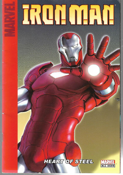 Image for Iron Man Heart of Steel SC (2008 Marvel) A Target Saddle-Stitched Collection #1-1ST    Published Jan 2008 by Marvel