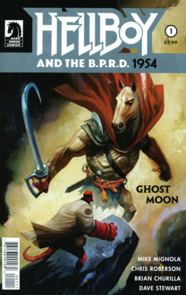Image for HELLBOY AND THE B.P.R.D.: 1954--GHOST MOON #1