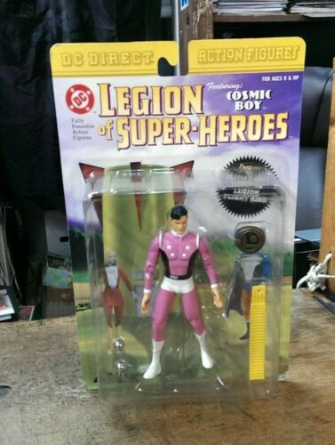 Image for DC Direct / Cosmic Boy / Legion of Superheroes 2001 SEALED Action Figure