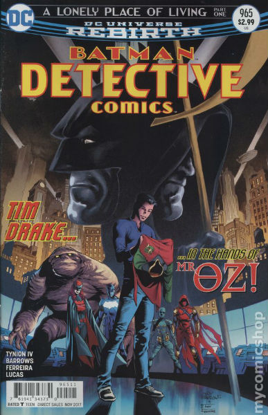 Image for Detective Comics (2016) #965A