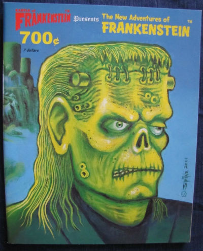 Image for Castle of Frankenstein Presents The New Adventures of Frankenstein # 1 thru #11  excellent collection
