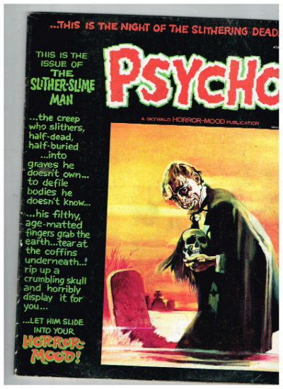 Image for PSYCHO Magazine #9,#10 & #11