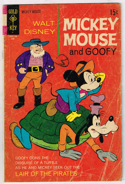 Image for MICKEY MOUSE (GOLD KEY / WHITMAN) #130    1962-1984 | VOLUME 1 | WESTERN (GOLD KEY/WHITMAN)