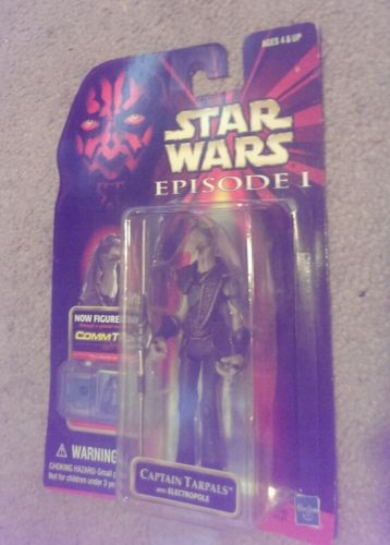 Image for Hasbro Captain Tarpals With Electropole Star Wars Episode Action Figure