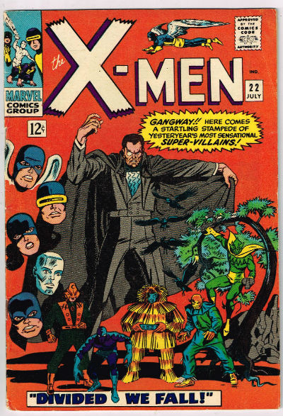Image for UNCANNY X-MEN #22    1966 | VOLUME 1 | MARVEL