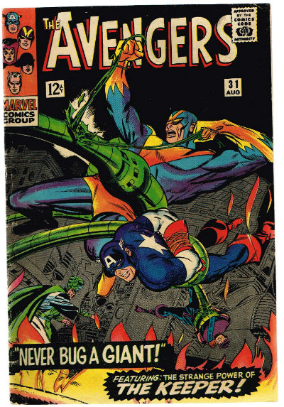 Image for The Avengers #31,Aug.,1966