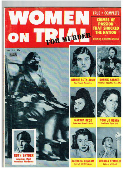 Image for WOMEN-ON-TRIAL-FOR-MURDER-1-1956-ELECTRIC-CHAIR-SOUTHERN-STATES-in excellent