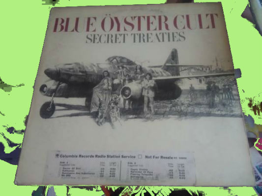 Image for Blue Öyster Cult ?– Secret Treaties