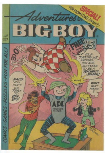 Image for The Adventures of Bob's Big Boy #257