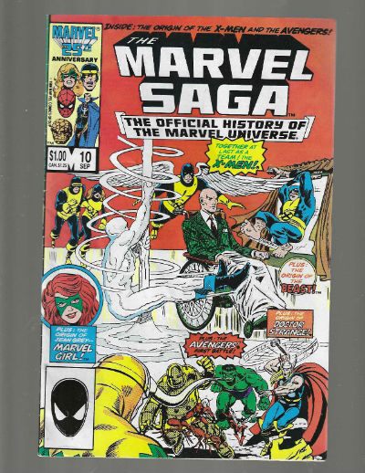 Image for Marvel Saga #10 The official history of the Marvel Universe