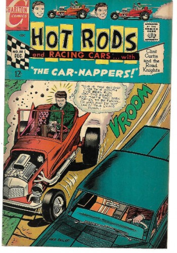 "Image for Hot Rods and Racing Cars #88:with""The Car-Nappers"""