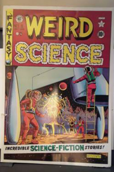 Image for Weird Science EC poster