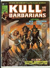 Image for Kull and the Barbarians:Red Sonja and Solomone Kane