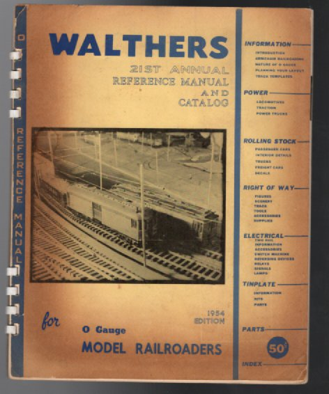 Image for Walthers 21st annual reference manual and catalog