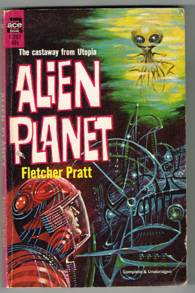 Image for Alien planet:The castaway from utopia