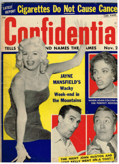 Image for Confidential,Nov.,1957