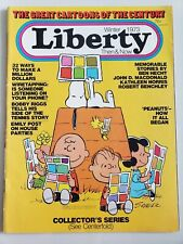Image for LIBERTY THEN & NOW MAGAZINE Winter 1973 ORIGINAL PEANUTS CHARLES M. SCHULZ COVER