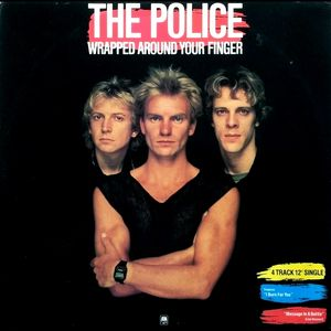 "Image for The Police ‎– Wrapped Around Your Finger  Label:  A&M Records ‎– AMX 127  Format:  Vinyl, 12"", Single, 45 RPM  Country:  UK  Released:  1983  Genre:  Rock  Style:  Alternative Rock"