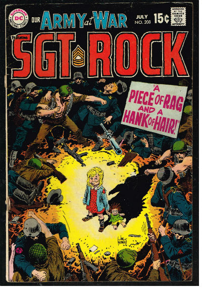 Image for Our army at War #208,SGT.ROCK!!