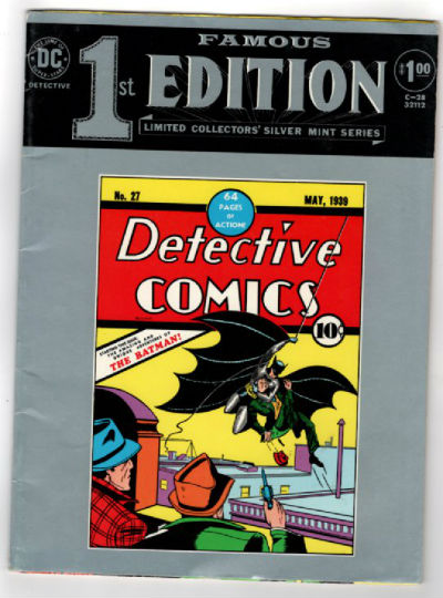 Image for Famous First Edition Detective Comics DC Treasury Edition C-28S