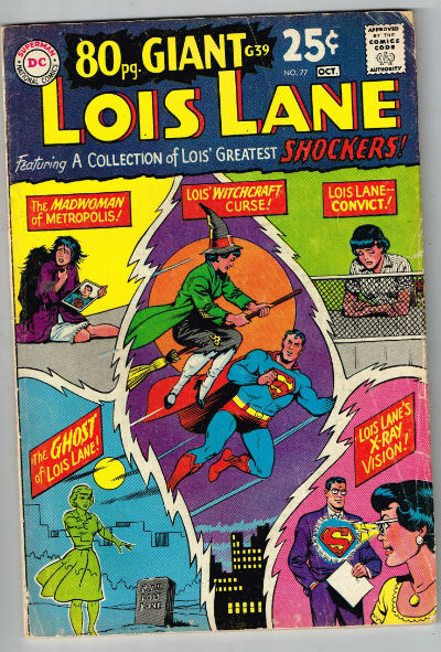 Image for SUPERMAN'S GIRLFRIEND LOIS LANE #77    1958-1974 | VOLUME 1 | DC