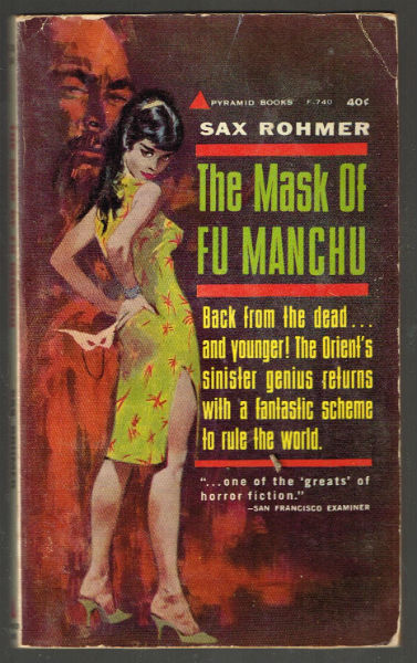 Image for the Mask of Fu Manchu