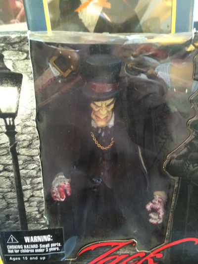 Image for Jack The Ripper action figure w/accessories -