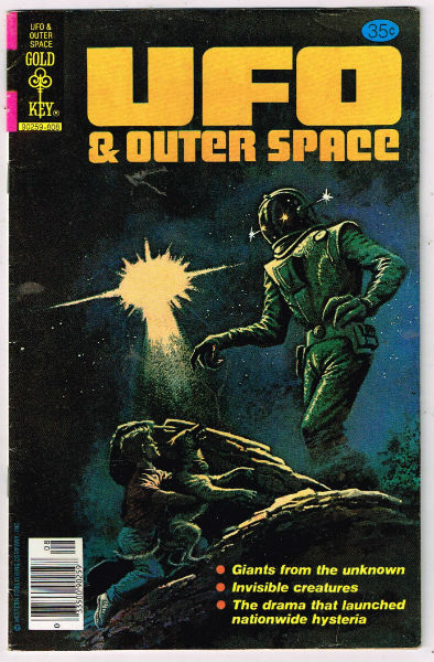 Image for UFO & OUTER SPACE (GOLD KEY/WHITMAN) #16   1978-1980 |  VOLUME 1 |  WESTERN (GOLD KEY/WHITMAN)