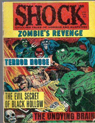 Image for Shock #Vol. 2#2 (May 1970, Stanley Morse)