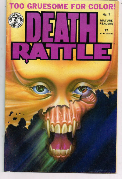 Image for Death Rattle #7