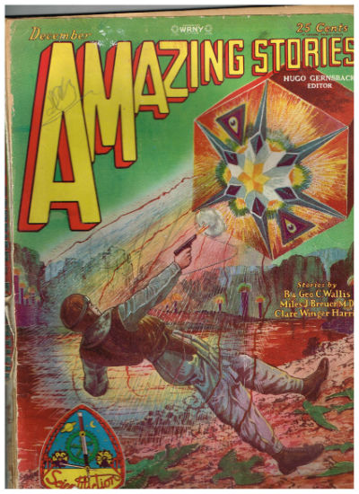 Image for Amazing Stories; December 1928 Vol. 3 No. 9