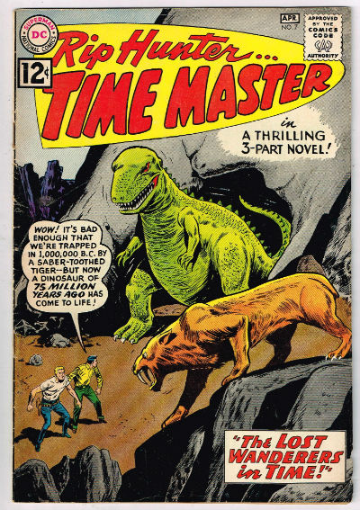 Image for RIP HUNTER, TIME MASTER #7    1962| VOLUME 1 | DC