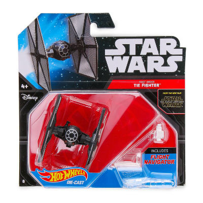Image for Hot Wheels Star Wars Die-Cast Starship - First Order Special Forces TIE Fighter