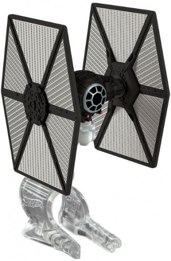 Image for Hot Wheels Star Wars The Force Awakens First Order TIE Fighter Vehicle MOC