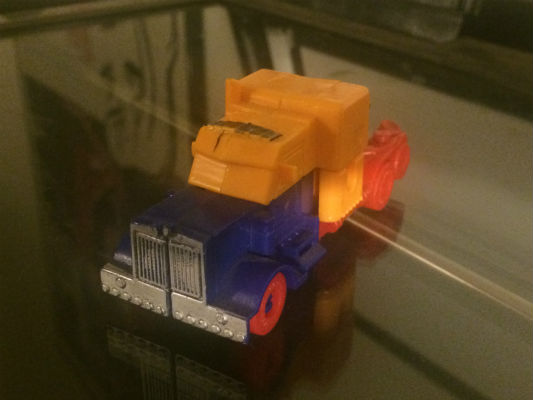 Image for Transformer:truck to robot and vice versa