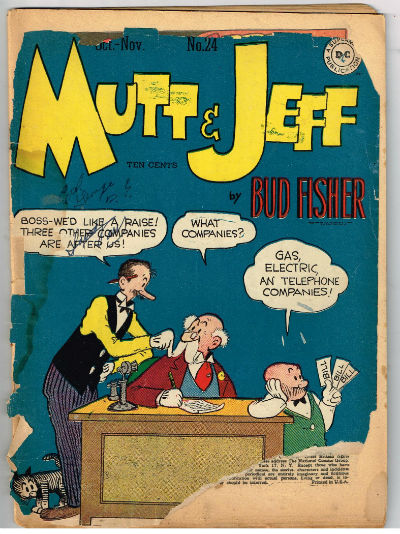 Image for MUTT AND JEFF #24    1946,Oct.-Nov.| VOLUME 1 | DC