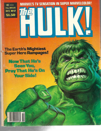 Image for The rampaging Hulk magazine #17 thru #24