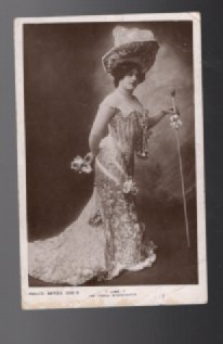 John Lind Female impersonator postcard