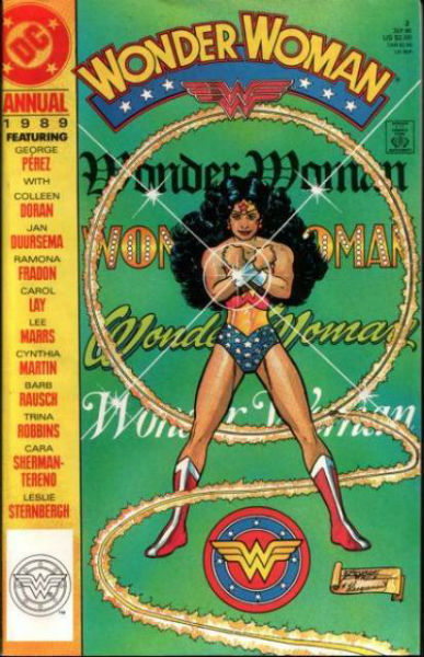 Image for Wonder Woman (1987 2nd Series) Annual #2