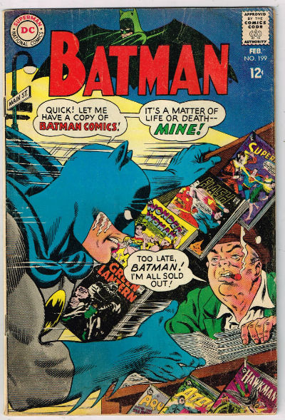 Image for BATMAN #199   1968,Feb. |  VOLUME 1 |  DC